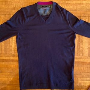 Ted Baker V Neck Sweater